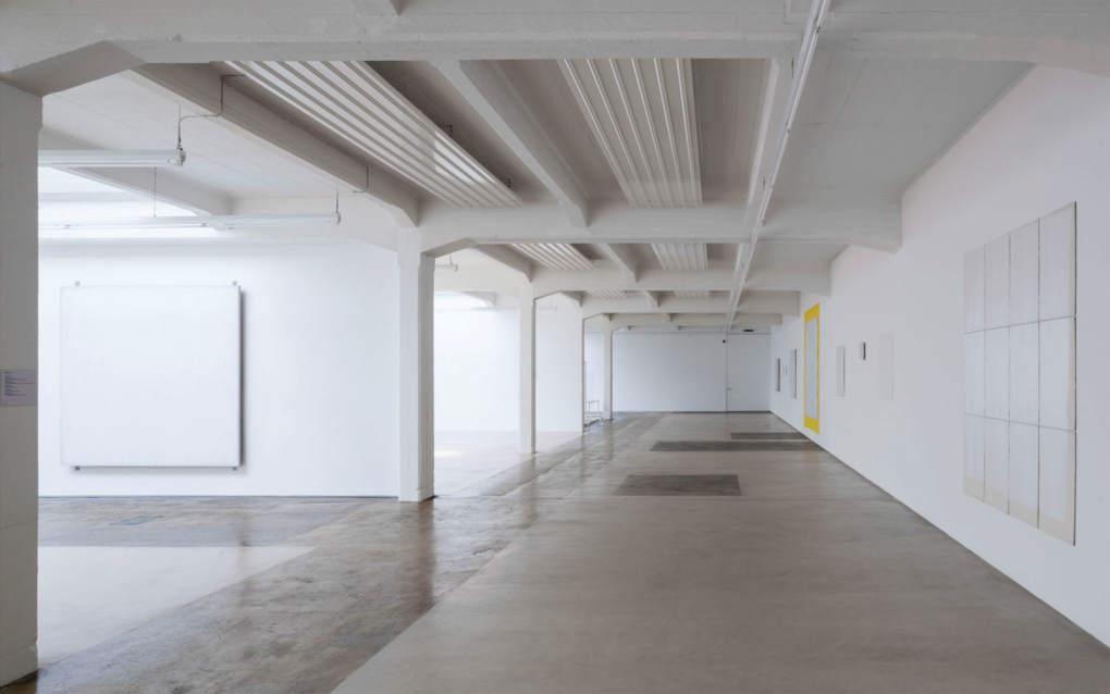 Bild Halle für neue Kunst Schaffhausen, Urs Raussmüller, 1983