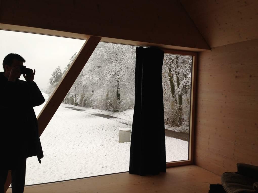 Seminarwoche Frühjahrssemester 2014 - Holzbauten - Titelbild