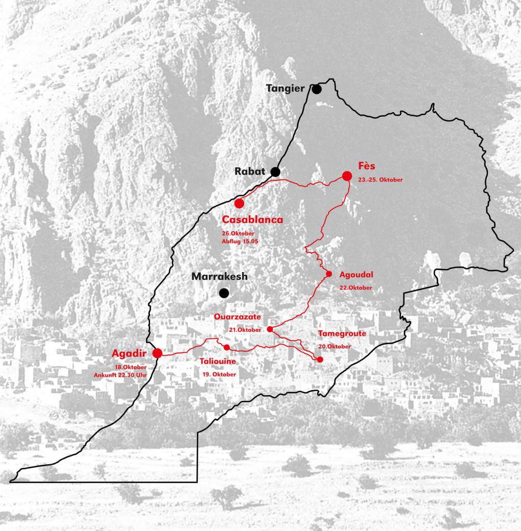Seminarwoche Herbstsemester 2013 - Marokko - Titelbild